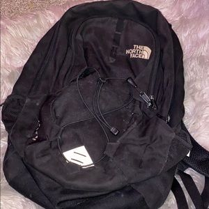 Black north face jester Backpack